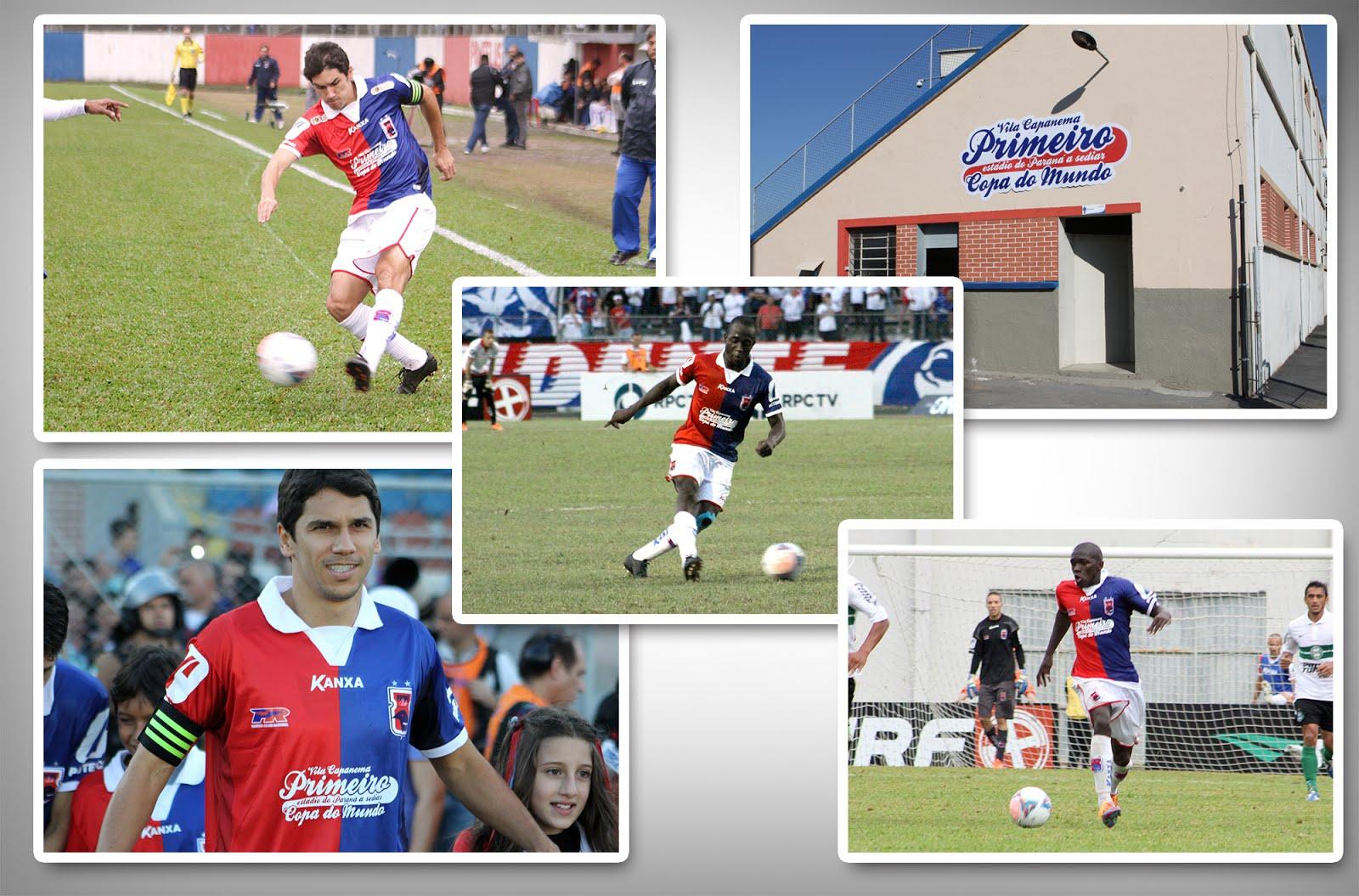 Camisas Paraná Clube com a marca Primeiro estádio a sediar Copa do Mundo